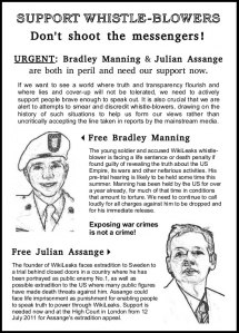 Whistle Blowers Flyer